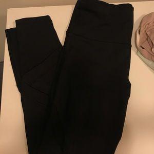 Two gap fit leggings